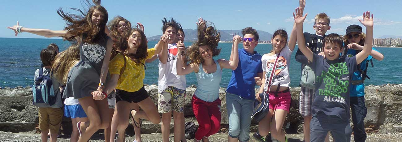 teenage group, Spanish courses for groups, excursions,