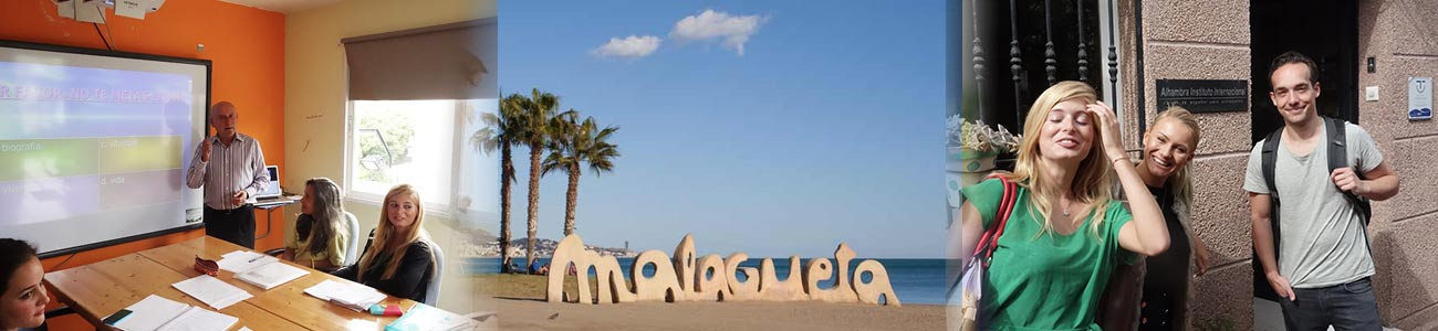 Spanish courses for young people, language school, Spanish courses for young people, accommodation in shared flats or Spanish host families in Malaga city,
